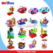 NF Series High Quality Coin Operated Fiberglass Toys Unblocked Games Used Kiddie Rides