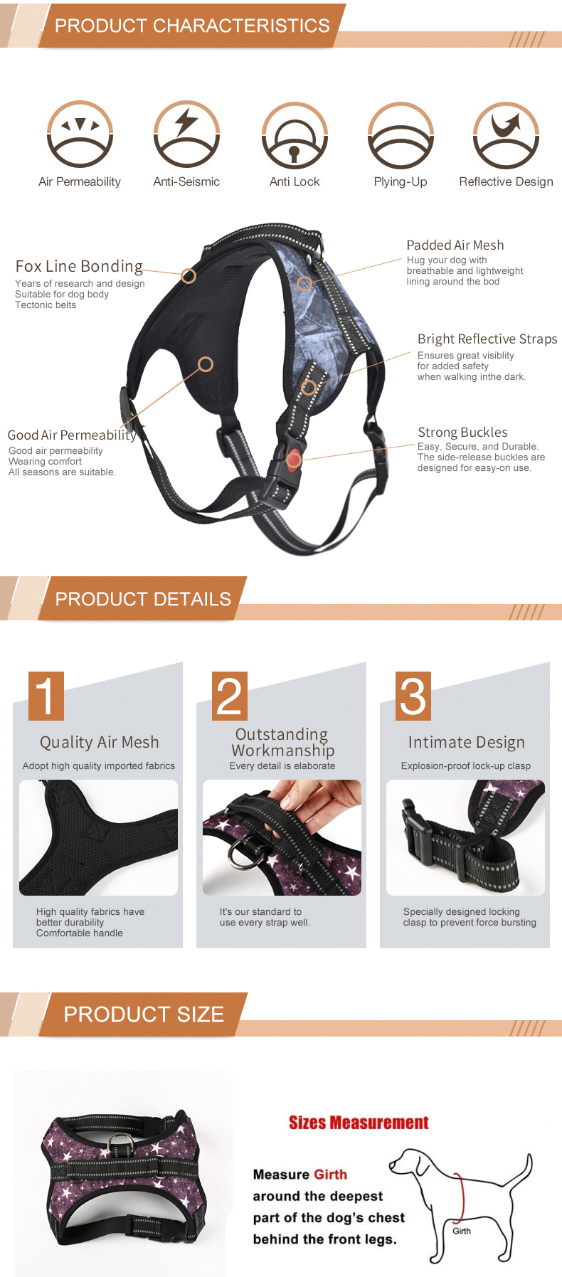 Innovative Design Easy Dog Harness, Dog Weight Pulling Training Harness
