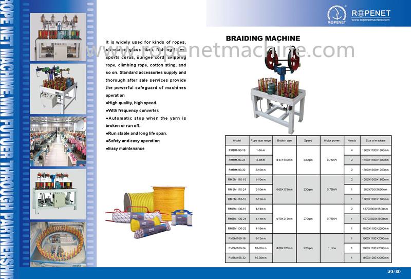 China Manufacturer Braiding Machine To Make Rope /cord/belt/string ...