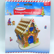 Christmas Gingerbread House DIY Craft EVA Foam Craft Kit