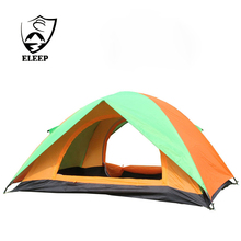 Tent Factory 2 Man Double Layer Waterproof Camping Tent Custom Logo outdoor Tents