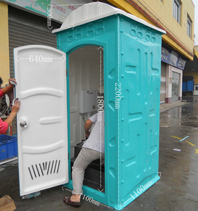 Public cheap and easy toilet mobile toilet/ low cost portable toilet