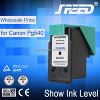 Trade assurance refillable ink cartridges PG540 and CL541 compatible for canon PIXMA MG2100 MG2200 MG3100 MG3200