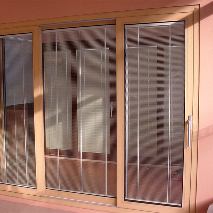 with aluminum track strong carrier suspended soundproof interior sliding door