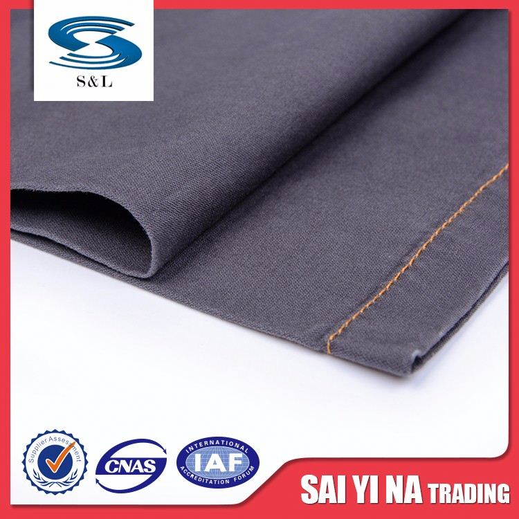 100 cotton plain dyed woven fabric for ladies dress