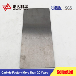 Tungsten price per kg Tungsten carbide plate/carbide wear plate