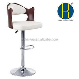 China Bar stool,antique wooden bar stool/restaurant furniture HY2012H made in China
