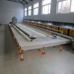 SIHAI animal plastic feed trough line in India poultry feeding trough for broilers
