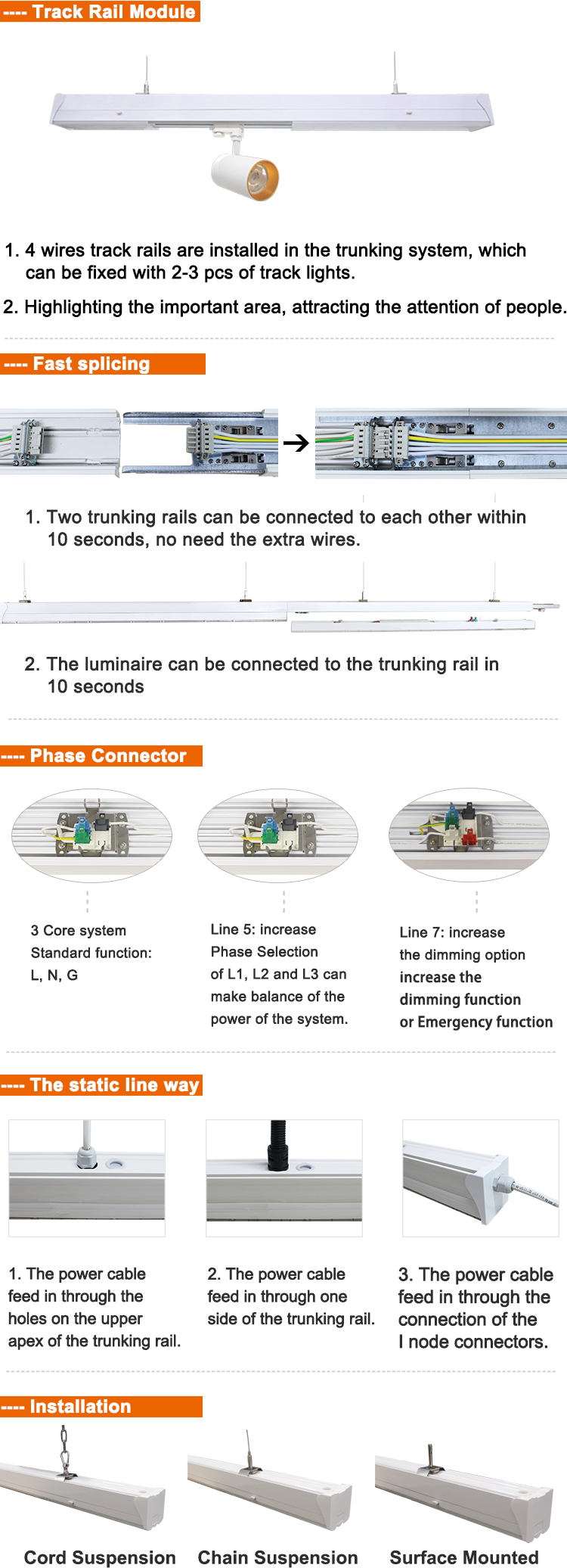 Led Linear Trunking System B What Is Wiring Our Ce Certification Traceable Http Szmostcom Date