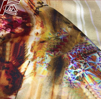 HIgh Quality 100% Silk Customized Digital Printed Crepe Satin Silk Fabric