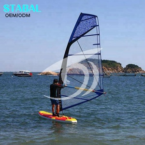 Wholesale Inflatable Windsurf Board SUP Paddle Boards with sail