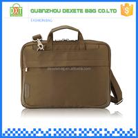 Unisex custom design business nylon laptop bag 11.6