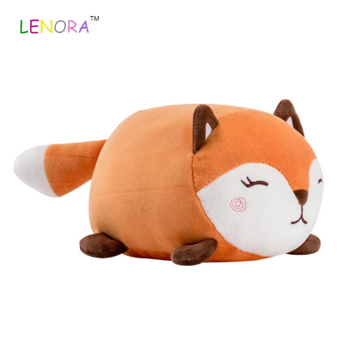 Wholesale round husky Plush Pillow Cushion husky ball Bed Sofa Car Sleeping Pillow Plush dog Toy Girl Birthday Promotion gift