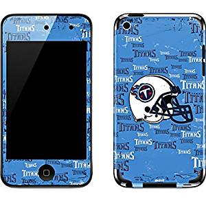 NFL Tennessee Titans iPod Touch (4th Gen) Skin - Tennessee Titans - Blast Vinyl Decal Skin For Your iPod Touch (4th Gen)