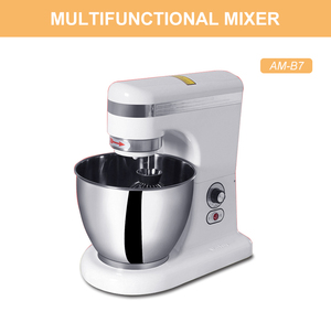 AM-B7 7L Raisable head electric large industrial food mixer for sales