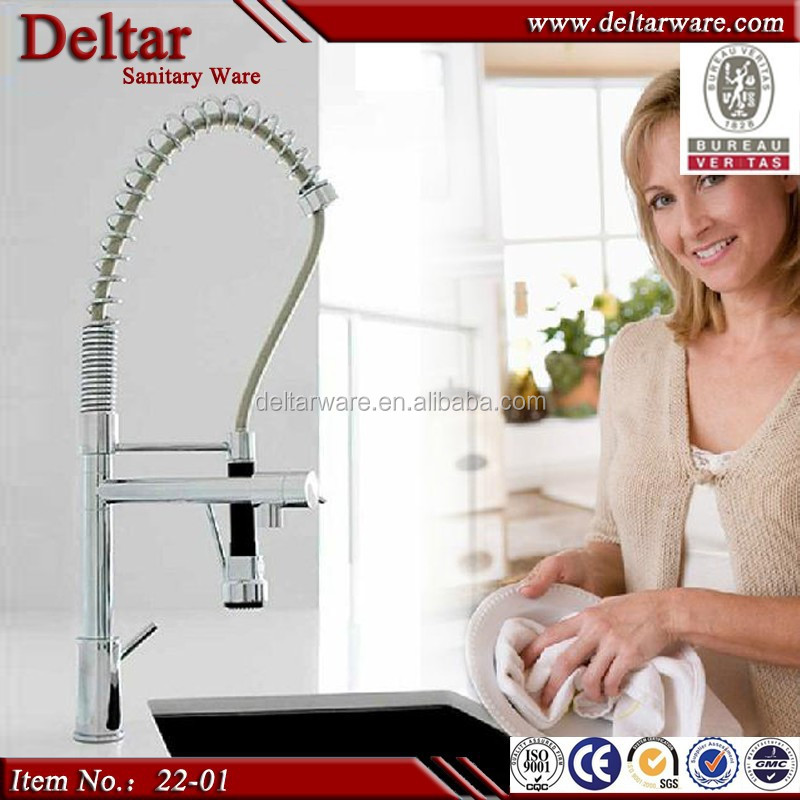 kitchen tap which can pull out, convenient kitchen sink mixer tap, copper kitchen tap