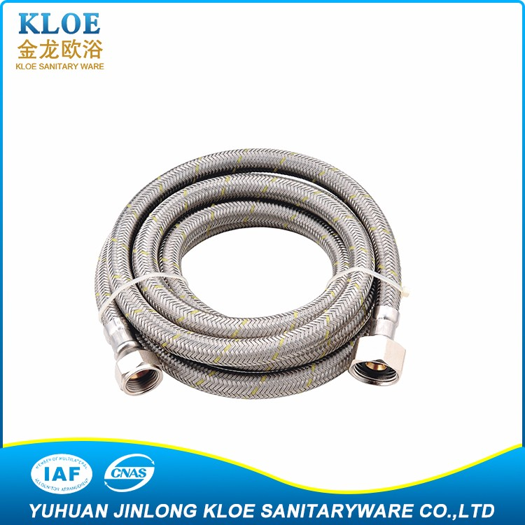 "made in China high performance Popular 5/8"",3/8"" stainless steel flexible hoses"