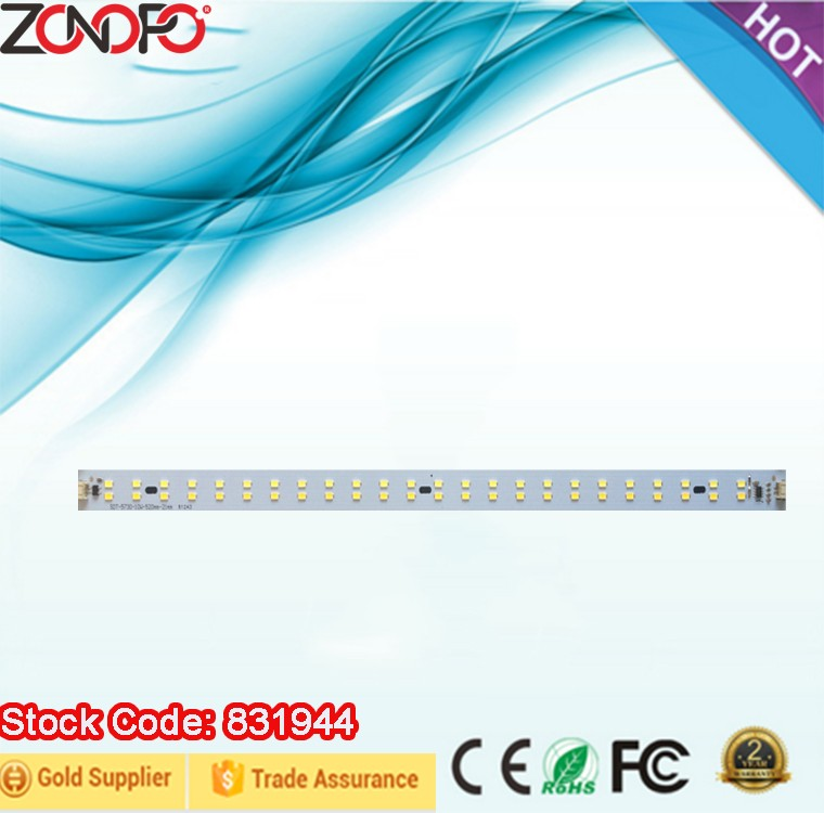 10w 6W double color dimming 110/220v input voltage no driver need smd5730 linear light high flux ac luminaire