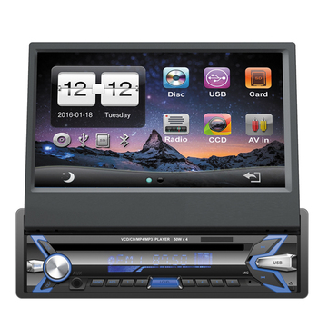 1 Din 7 Inch Car Dvd Player Single Android Stereo WIFI 3G