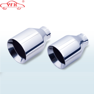 2018 hot sale 201/304 stainless steel exhaust muffler tail