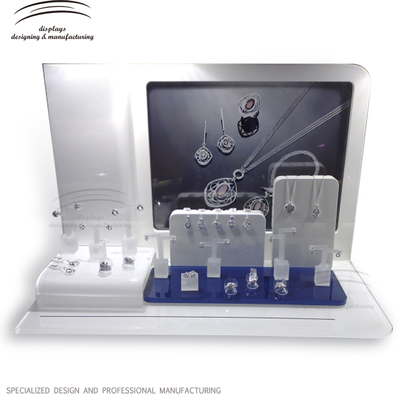 Weitu acrylic jewelry display jewelry display sets