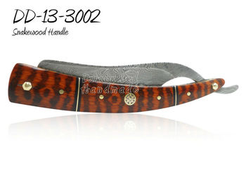 Damascus Steel Straight Razor DD-13-3002