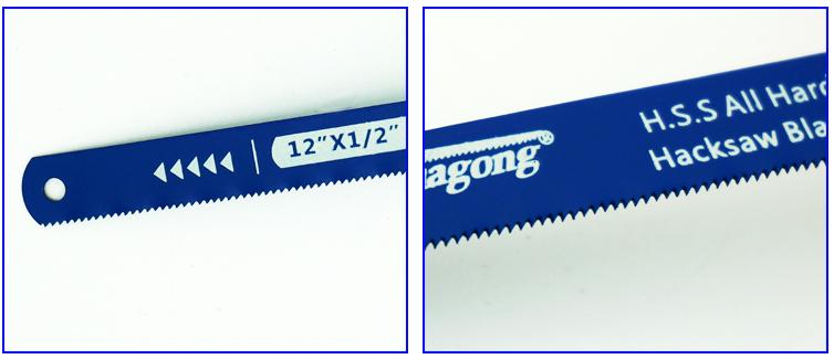 En çok satan profesyonel ahşap testere ağzı esnek hss demir testeresi bıçağı