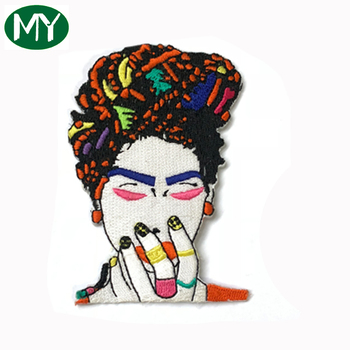 Hot Selling OEM Factory Garment Accessories Custom Embroidery Patch