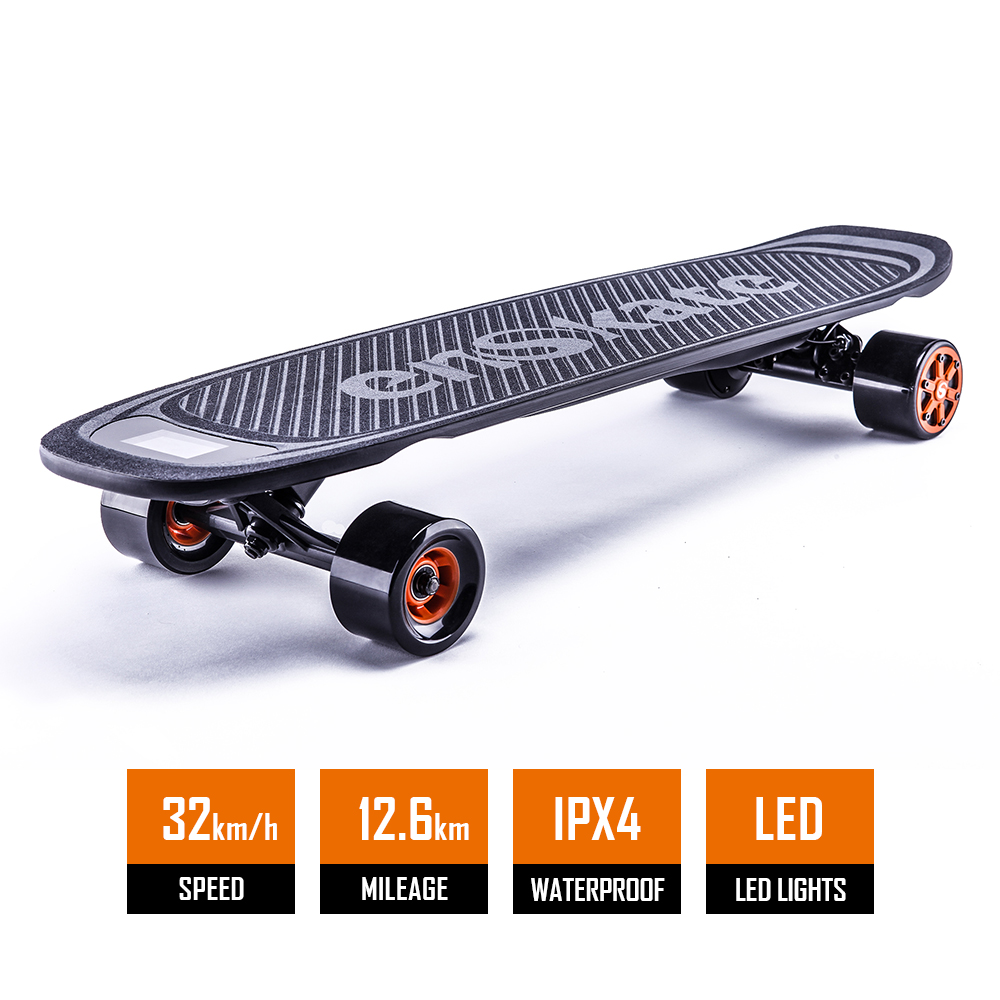 Led Leuchtanzeige Dual Motor Hub Custom Boosted Electrics Longboard Skateboard
