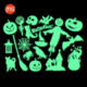 Custom PVC vinyl Halloween decorative window/wall stickers