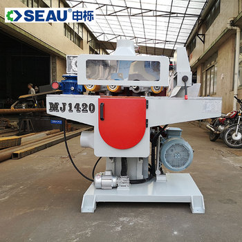 MJ1420 automatic multiple woodworking blade rip sawing machine rip saw