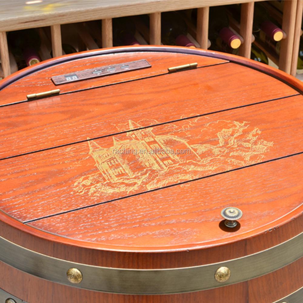 Progetti di mobili in legno di quercia botte di vino for Mobili in quercia