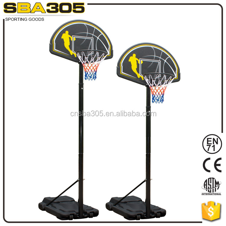 hot sale height adjustable basketball pole for sale
