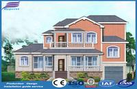 2017 Beijing Hyperst Company Two Storey Luxury Light Steel Villa for Sale