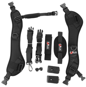 Wholesale Quick Focus SLR Camera Double Shoulder Double Sling Quick Camera Strap