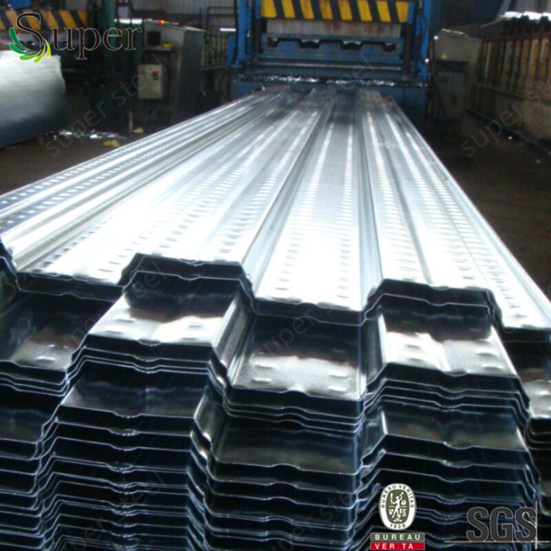 2016 hot sale low price galvanized corrugated metal floor decking G90