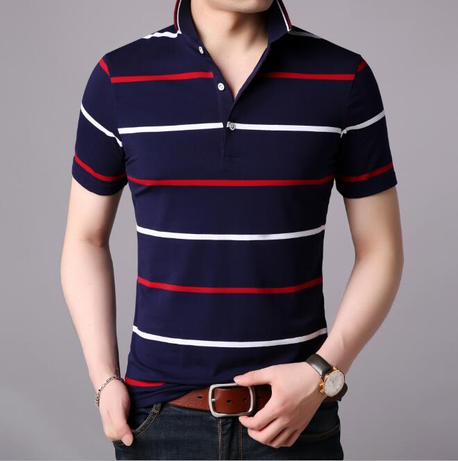 Qetesh Wholesale Personalised Cheapest Polo Men Cotton Polo Shirt