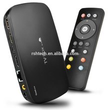 Cheapest hopsell Android 4.4 <span class=keywords><strong>os</strong></span> amlogic S805 1 GB RAM, 8 GB ROM Full HD 1080 p y 3D Media Player pre-instalar xbmc Internet TV box
