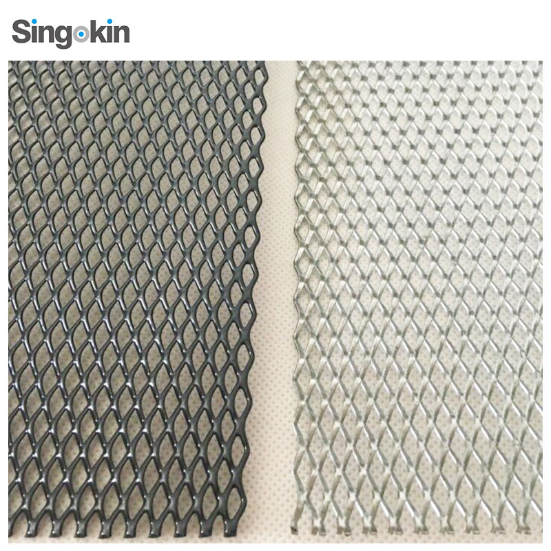 Protection screen 5x10mm diamond hole expanded metal mesh