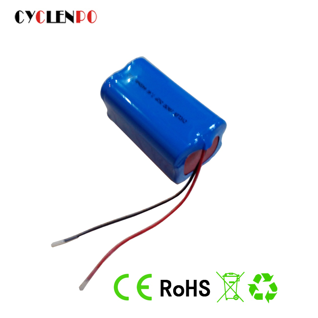 Rechargeable Li-Ion 12v battery Battery pack 4 x 18650 for lighting LED flashing Bicycle Light solar storage lighting battery