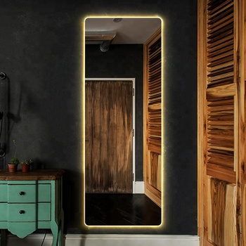 Wall Mounted Smart Full Length Lighted Bathroom Dressing Mirrors