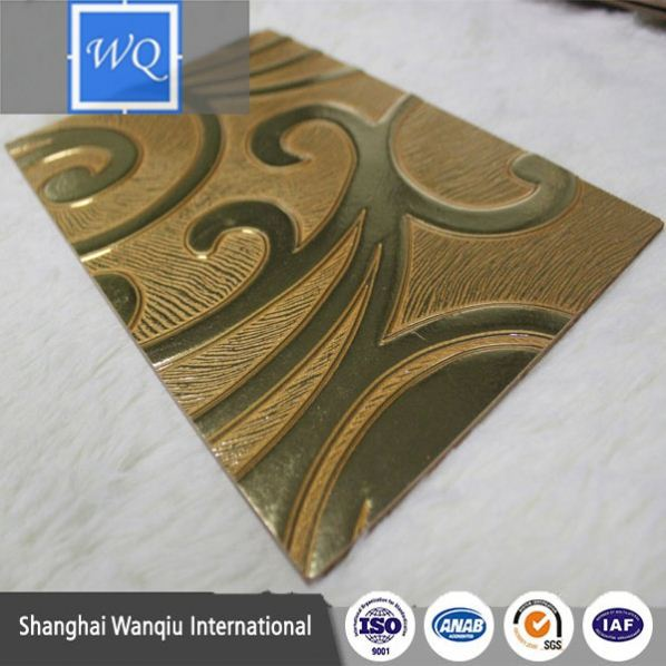 Decorative high-pressure laminate butterfly embossed hard board embossed mdf for construction