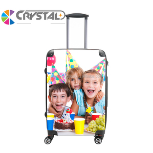 Customized Design Aluminum frame luggage aluminum alloy rod eminent trolley luggage travel suitcase hard luggage