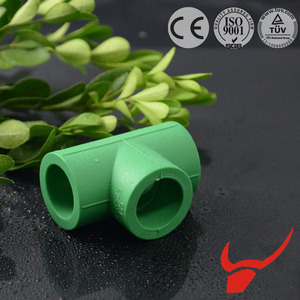 Socket Fusion Joint Connection Method PPR Pipe Fitting Tee Coupling butt-welding tee joint PPR Plastic Manufacturers Equal Tee