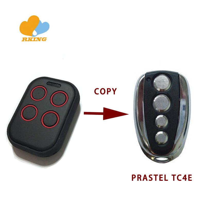 PRASTEL trq2p MT2E trq4p MT4E Remplacement Garage Gate Fob Télécommande