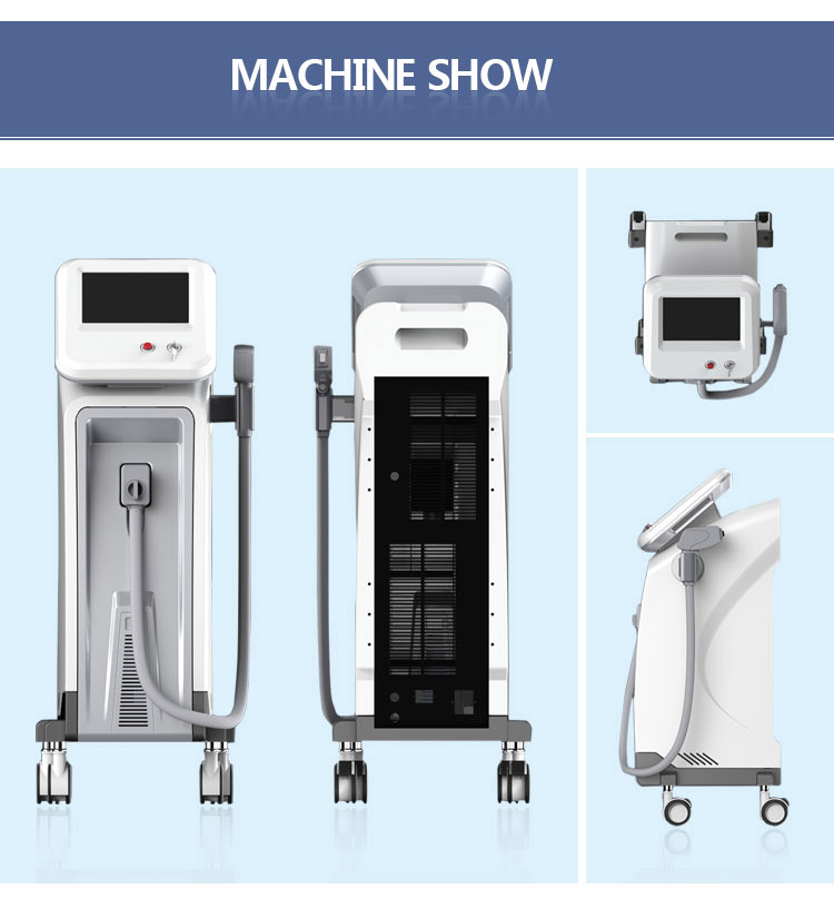 2018 hot selling beauty salon use diode laser hair removal CE approved