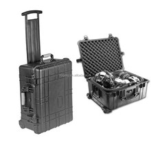 Safety Rugged Plastic Trolley Toolbox with Wheels