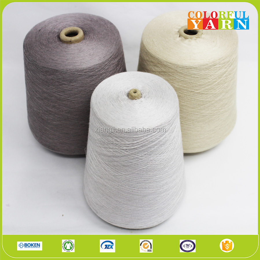High quality weaving knitting dyed or raw silk yarn