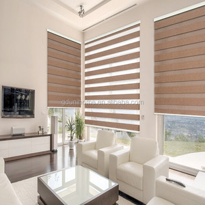 blackout fabric manual zebra roller blinds window curtain