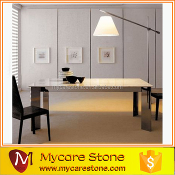 Hot Sale Polished Solid Surface Marble Table Top Replacement
